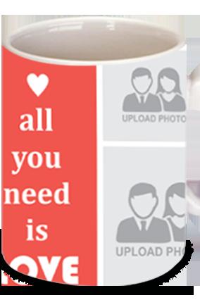 All You Need Is Love Valentine's Day Bone China Mug