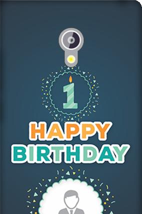 Asus Zenfone 6 Happy Birthday Mobile Cover