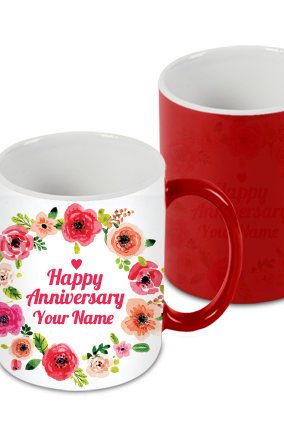 Customize Floric Red Magic Mug