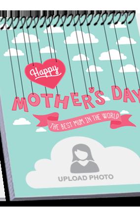 Best Mother's Top Spiral Notebook