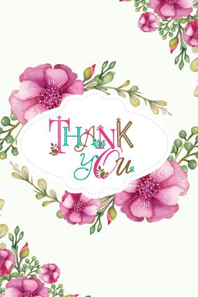Gorgeous Thank You Card