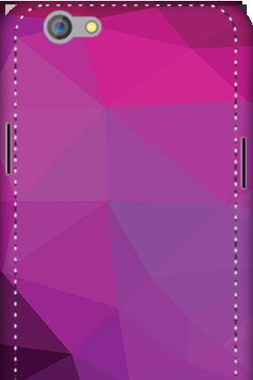 3D - Oppo F1S Purple Mobile Cover