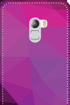 3D - Lenovo K4 Note Purple Mobile Cover