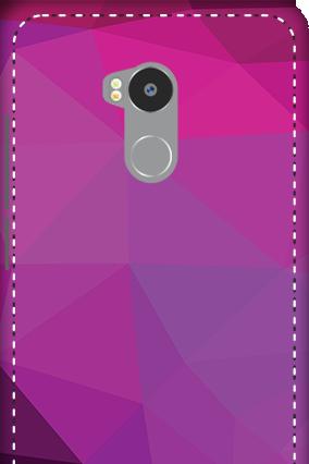 3D - Redmi 4 Prime Purple Mobile Cover
