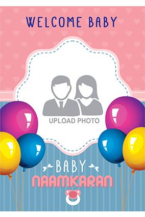 Customize Baby Namkaran Party Invitation Card