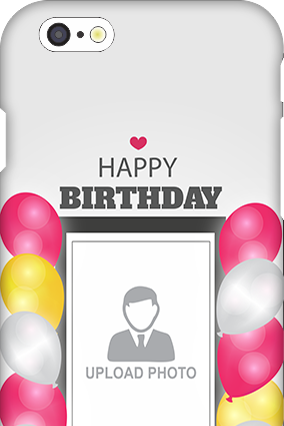 Apple I Phone 6 Birthday Wishes Mobile Cover