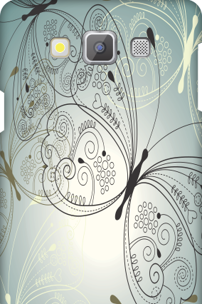 Custom Samsung Galaxy A7 Floric Mobile Cover
