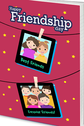 Effit Picture Perfect Friendship Day Notebook