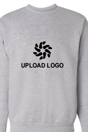 Upload Logo Gray Sweatshirt