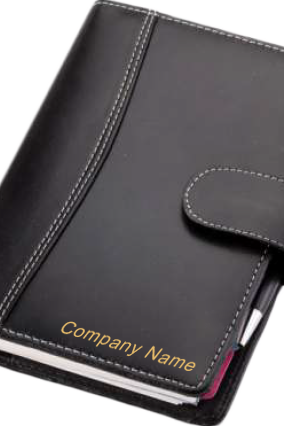Premium Business Organiser Leatherite Black GE-1063