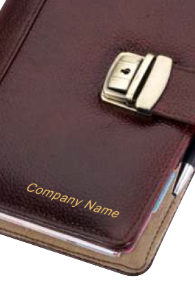 Business Organization Leatherette NDM Brown GE-1074