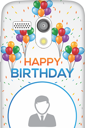 Personalized Moto G Birthday Greetings Mobile Cover
