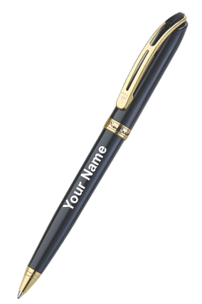 Pierre Cardin Monterosa Bright Gold Part Ball Pen