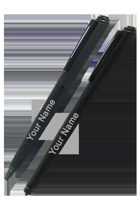 Black Ball+Roller Pen-9007