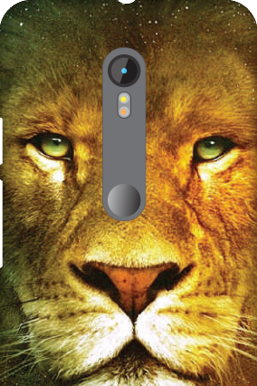 Motorola Moto G 3rd Gen Lion Face Mobile Cover
