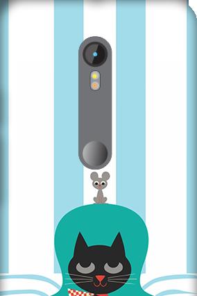 3D Motorola Moto G3 Cat Mobile Cover