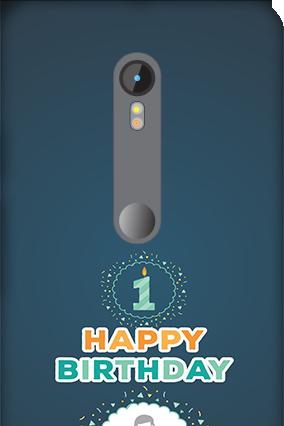 3D Motorola Moto G3 Birthday Wishes Mobile Cover