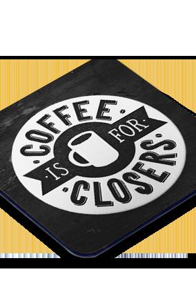 Coffee Square Printed Coaster