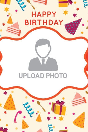 Birthday Greetings Potrait Canvas Printing