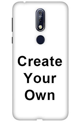 3D-Create Your Own Nokia 7.1 Mobile Covers