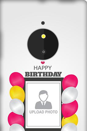 Customized Nokia Lumia 830 Birthday Greetings Mobile Cover