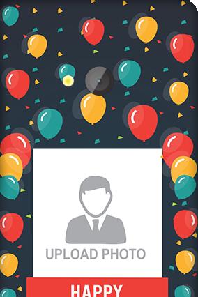 Custom Microsoft Lumia 540 Balloons Birthday Mobile Cover