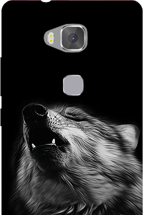 Customize Huawei Honor 5X Wolf Face Mobile Cover