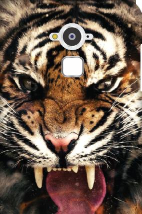 Designer Silicon - Coolpad Note 3 Big Roar Mobile Cover