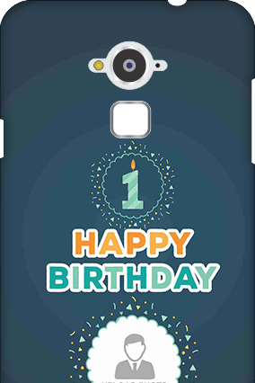 Customised Silicon - Coolpad Note 3 Birthday Wishes Mobile Cover