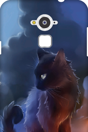 Customized Silicon - Coolpad Note 3 Cat Mobile Cover