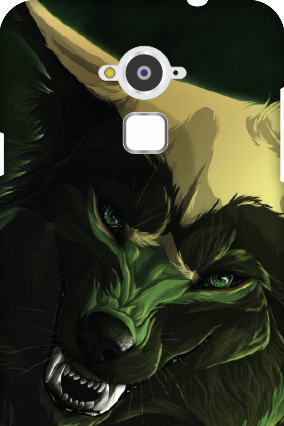 Amazing Silicon - Coolpad Note 3 Scary Wolf Mobile Cover