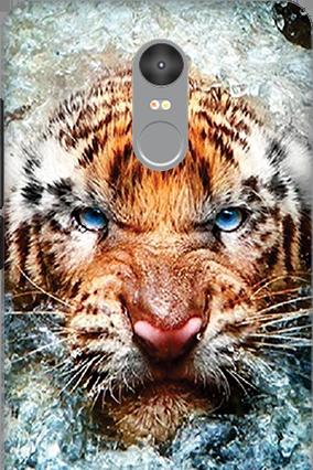 Amazing 3D-Xiaomi Redmi Note 4 Beast Mobile Cover