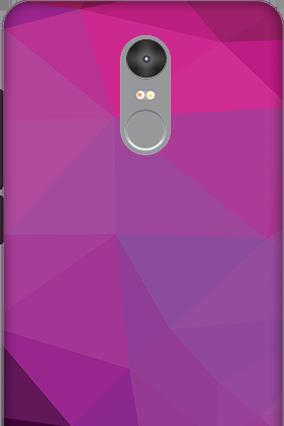 3D - Xiaomi Redmi Note 4 Purple Mobile Cover