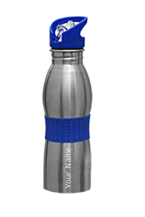 Omega Curved Bottle (600 Ml) Blue GM-156