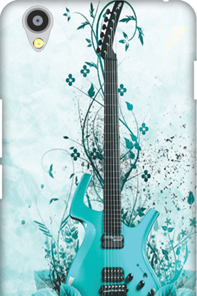 Oneplus X Blue Guitar Mobile Cover