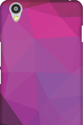 Oneplus X Purple Mobile Cover