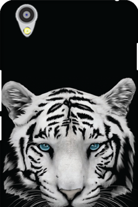Oneplus X White Tiger Mobile Cover