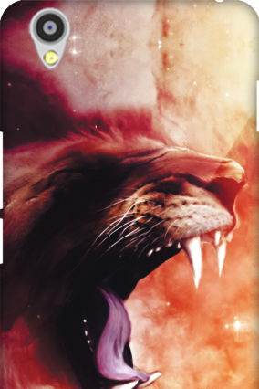 Custom Oneplus X Scary Lion Mobile Cover