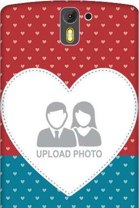 Customized 3D- OnePlus One Colorful Heart Valentine's Day Mobile Cover
