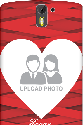 3D- OnePlus One Big Heart Valentine's Day Mobile Cover