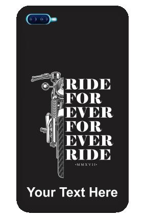 Oppo A11K Ride Forever Designer - Mobile Phone Cover