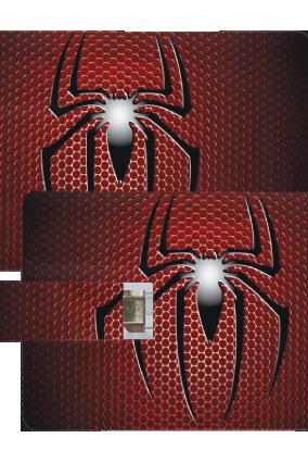 Sparkling Spider OTG Credit Card Pen drive