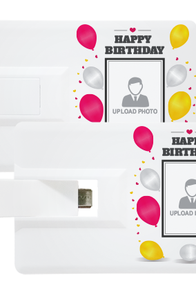 Celebrations OTG Credit Card Pen Drive