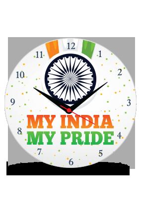 My Pride Indian Clock