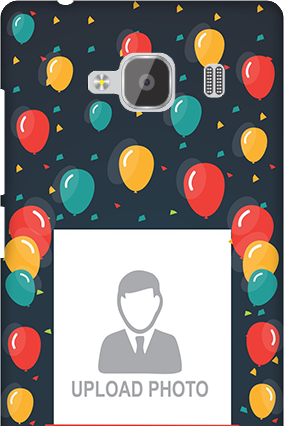 Silicon - Redmi 2 Prime Balloons Birthday Mobile Cover
