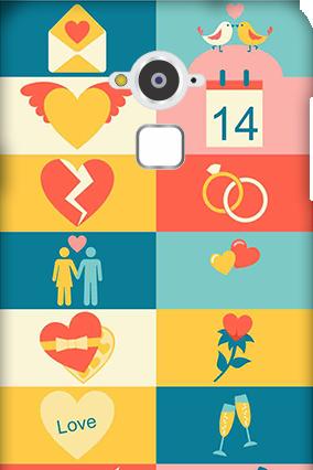 Amazing Silicon - Coolpad Note 3 Creative Valentine's Day Mobile Cover