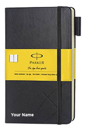 Parker Std Small Notebook Yellow Sleeve-9000019829