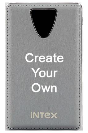 Create Your Own Intex-Power Bank PB-8000mAh Poly - Black