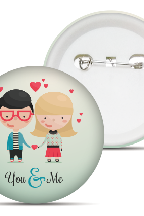You & Me Badge