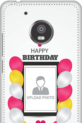 3D - Moto G5 Plus Birthday Greetings Mobile Cover